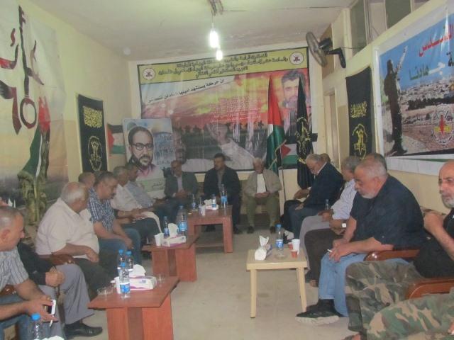 استقبال سياسي للجهاد في البداوي