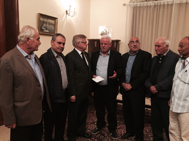 قيادة فصائل منظمة التحرير الفلسطينية في لبنان،تعزي السفير الروسي بضحايا الطائرة التي سقطت فوق سيناء
