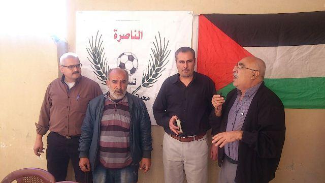 نادي الناصرة يحيي الذكرى االـ ١١ لرحيل الشهيد عرفات
