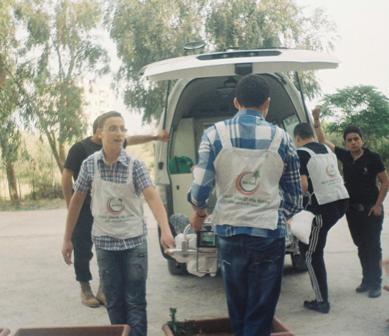 دورة الاستقلال للاسعافات الاولية في طرابلس.