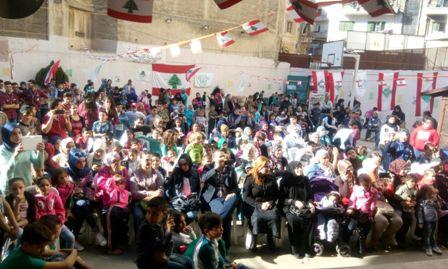 كرمس الاستقلال لكشاف الشباب الوطني في طرابلس
