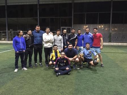 دوري رياضي لكرة القدم في ذكرى الانطلاقة الثامنة والأربعين للجبهة الشعبية لتحرير فلسطين .