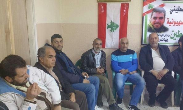 الجبهة الشعبية لتحرير فلسطين في الشمال تعزي بالشهيد القائد الكبير سمير القنطار