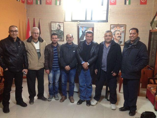 وفد من لجنة عرب الزبيد زار الجبهة الشعبية في عين الحلوة