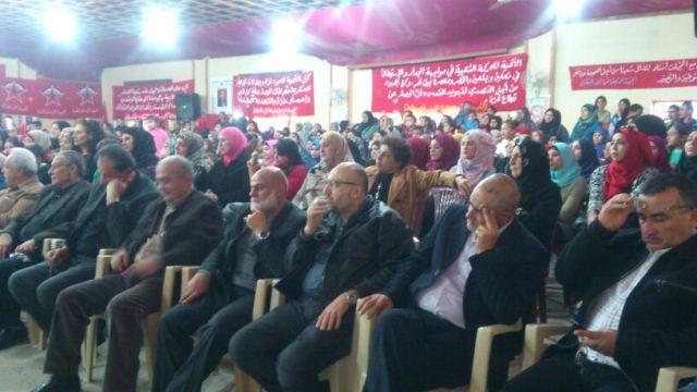 الجبهة الديمقراطية  لتحرير فلسطين تحتفل بذكراها الـ 47 في مخيم نهر البارد