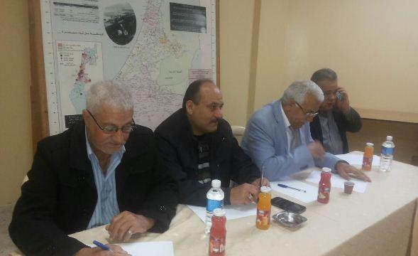 اللجنة الشعبية في عين الحلوة شاركت في اجتماع من أجل إطلاق مشروع الحماية القانونية