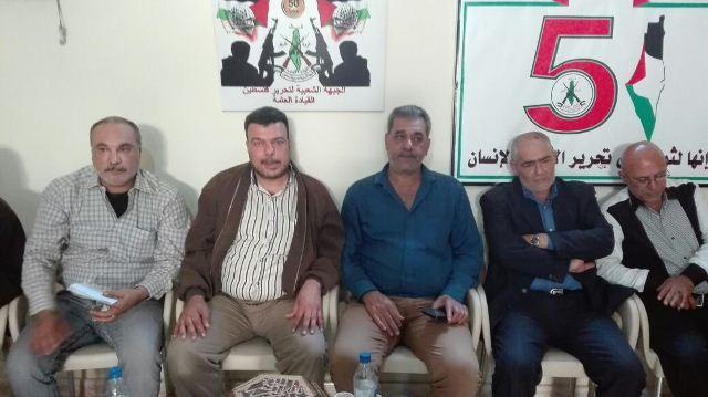 الجبهة الشعبية القيادة العامة اقامت حفل استقبال في منطقة الشمال