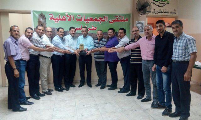 ملتقى الجمعيات الأهلية في طرابلس يكرّم عضو المجلس البلدية محمد تامر