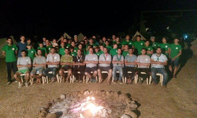 إختتام المخيم الصيفي لكشاف الشباب الوطني في التليل العكارية.