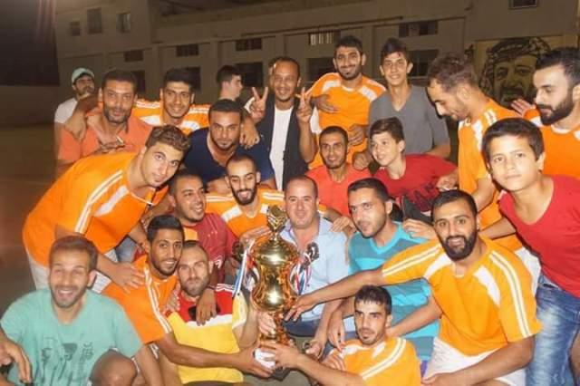 اختتام دورة الشهيد أبو علي مصطفى لكرة القدم ال 15 في مخيم البداوي.