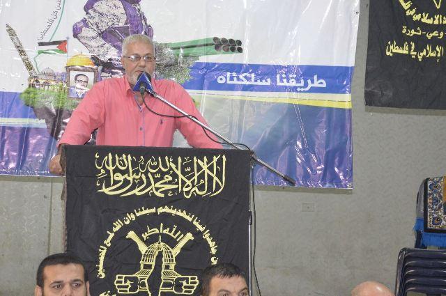 الشعبية في عين الحلوة تشارك في حفل استقبال حركة الجهاد الإسلامي