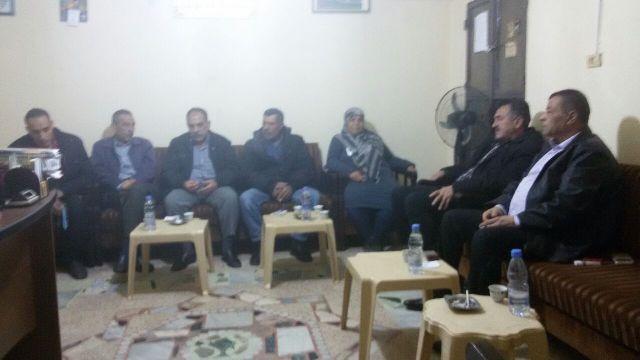 الشعبية  في صور تلتقي جبهة التحرير الفلسطينية.
