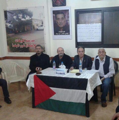 ندوة حوارية في مخيم برج البراجنة لمناسبة صدور قرار تقسيم فلسطين