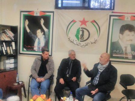 الشعبية في صيدا تزور جبهة التحرير الفلسطينية