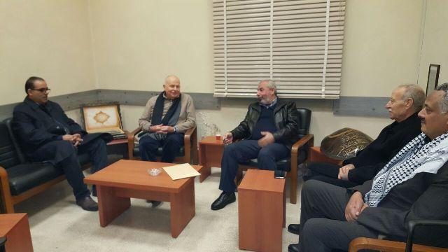 وفد من حركة فتح في الشمال يزور الوزير كبارة  مهنئًا