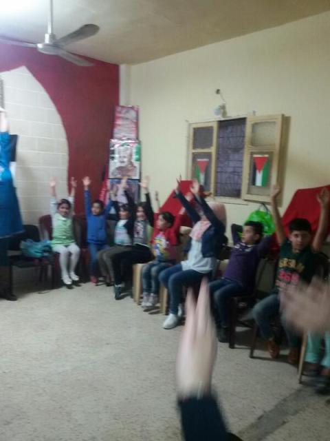 لجان المرأة الشعبية الفلسطينية ومنظمة الشبيبة في برج البراجنة تقيم لقاء توعويا