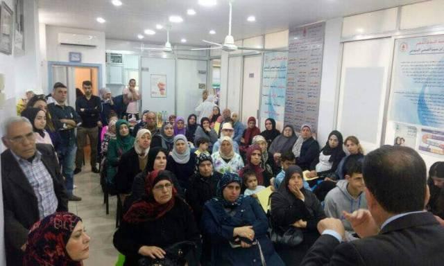 محاضرة عن التهاب المفاصل في طرابلس