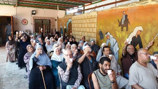 اتحاد المرأة و دار الشيخوخة يحيان ذكرى النكبتين ويتضامنان مع الأسرى الأبطال في مخيم نهر البارد