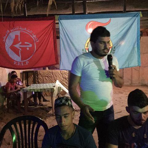 منظمة الشبيبة الفلسطينية تنظم لقاءً حواريًّا شبابيًّا في الرشيدية