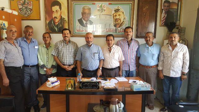 المؤتمر الشعبي زار حركة فتح في البداوي