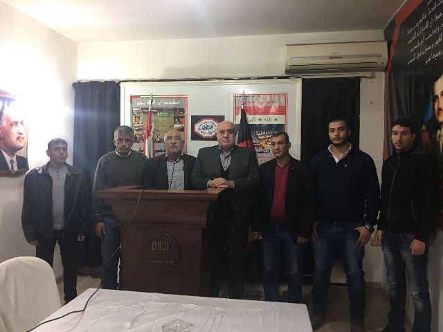 الشعبية في بيروت تلتقي بأمين الهيئة القيادية في حركة