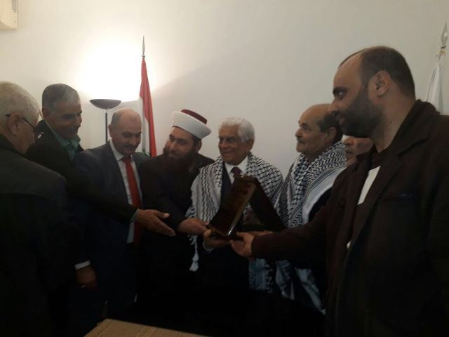 وفد من الفصائل الفلسطينية واللجان الشعبية زار بلدية عوكر- الضبية