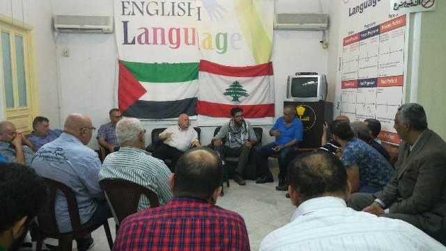 الناشط الأوروبي لنصرة القضية الفلسطينية يزور دار النّدوة الشمالية