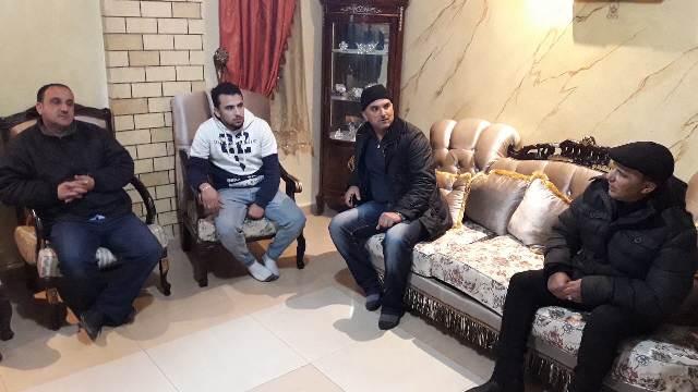الشعبية في البارد تزور أمين سر نادي النصر أبو سلطان بشر