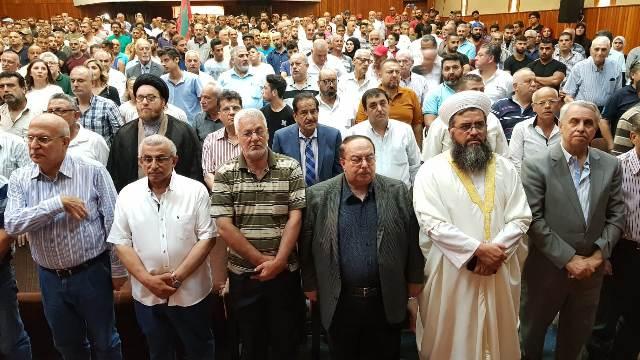 احتفال جماهيري حاشد لمناسبة الذكرى السابعة عشرة لغياب القائد الوطني مصطفى سعد
