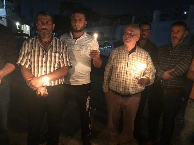 الجبهة الشعبية تنظم وقفة تضامنية  في نهر البارد مع أسرى الحرية