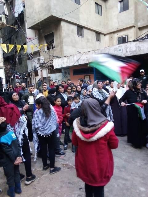 الشعب الفلسطيني في لبنان  يرفص  صفقة القرن وكل ما يصدر عنها