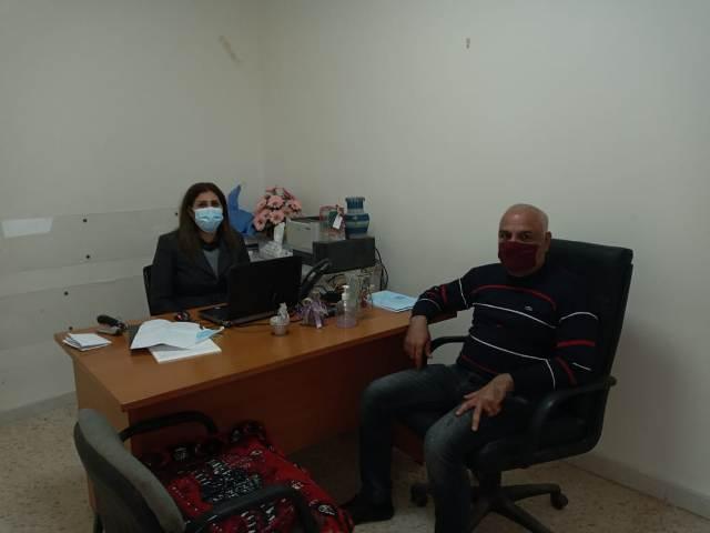 الجبهة الشعبية لتحرير فلسطين تلتقي مديرة مخيمي مارالياس وشاتيلا