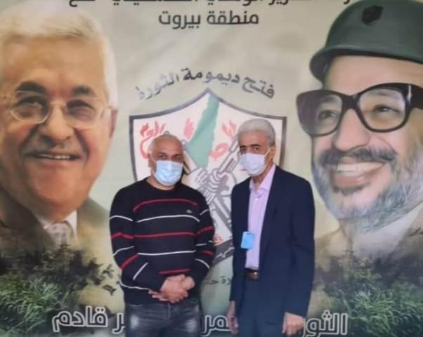 الجبهة الشعبية لتحرير فلسطين تلتقي حركة التحرير الوطني الفلسطيني فتح في بيروت