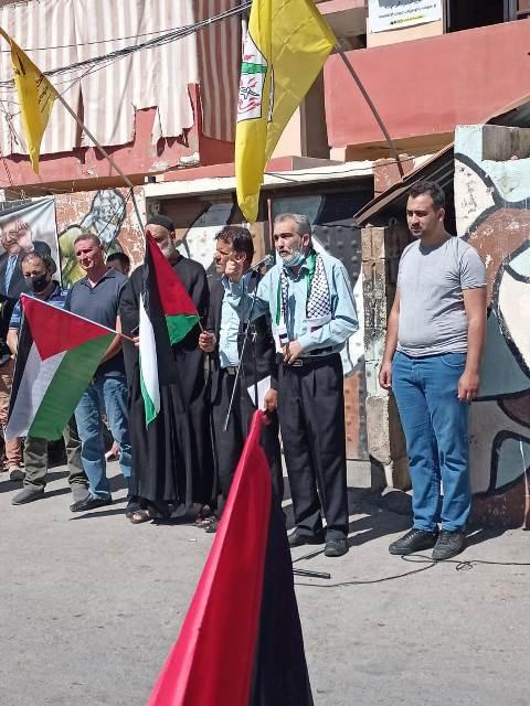 مراد: صمود الشعب الفلسطيني ومقاومته أعاد للقضية وهجها القومي والاممي