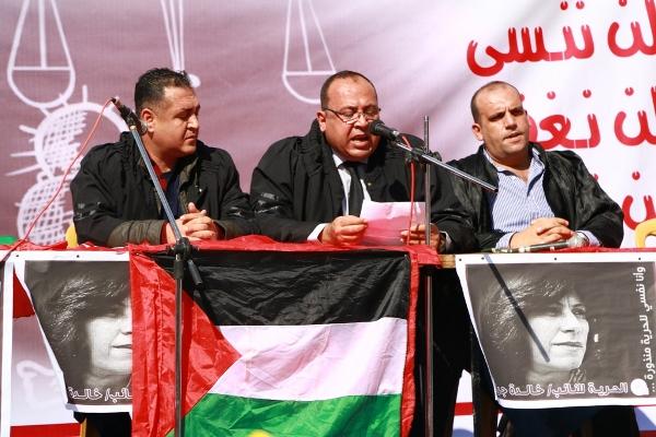في ذكرى وعد بلفور، الشعبية تنظم محاكمة رمزية للكيان الصهيوني وبريطانيا والولايات المتحدة على جرائمهم بحق شعبنا الفلسطيني.