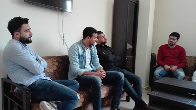 وفد من الخريجين الفلسطينيين في الشمال زار مكتب الجبهة الشعبية لتحرير فلسطين