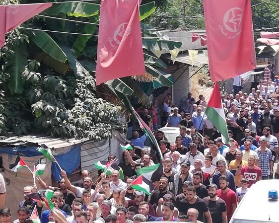 اللاجئون الفلسطينيّون في لبنان يستعدون لجمعة الغضب الثامنة