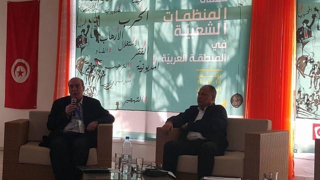 دكتور ماهر الطاهر يشارك في ملتقى المنظمات الشعبية العربية تحضيراً لعقد مؤتمر دولي ضد الإمبريالية في فنزويلا