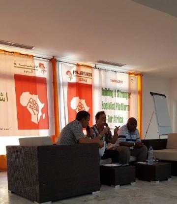 د. ماهر الطاهر يشارك في مؤتمر للأحزاب السياسية في القارة الأفريقية بالعاصمة التونسية