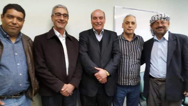 الدكتور ماهر الطاهر يلتقي قيادة الحزب الشيوعي في البرازيل