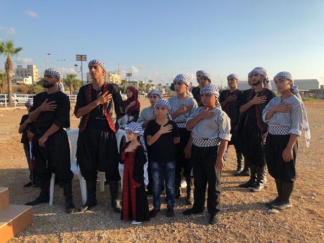 الشعبية في صيدا تشارك في الوقفة التضامنية للمنظمات الشبابية والطلابية اللبنانية والفلسطينية دعما للأسرى في سجون الاحتلال الصهيوني