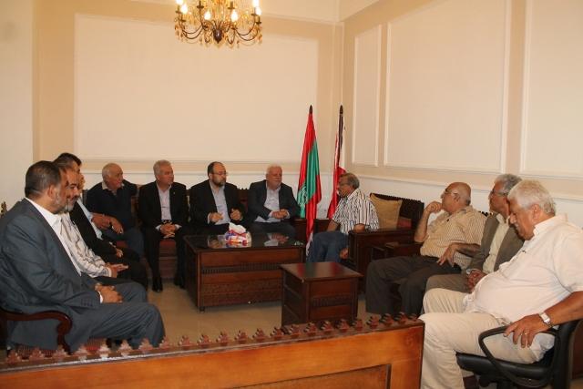القوى الوطنية الفلسطينية والإسلامية جالت على فاعليات صيدا