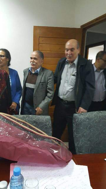 الرفيقة لويزا حنون الأمين العام لحزب العمال الجزائري استقبلت وفداً من المكتب السياسي للجبهة الشعبية لتحرير فلسطين