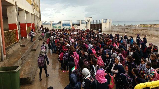 جولة للفصائل على مدارس الأونروا في البارد لمناسبة وعد بلفور