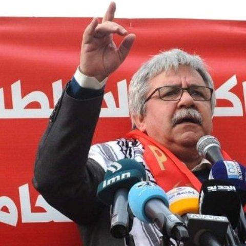 كلمة الأمين العام للحزب الشيوعي اللبناني حنا غريب في الذكرى ٥٣ لانطلاقة الجبهة الشعبية لتحرير فلسطين