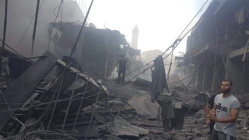 انفجار يهز وسط مدينة غزة ويخلّف أضرارًا مادية وإصابات