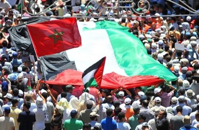 القوى المغربية تدين اتفاق الامارات والبحرين مع الكيان الصهيوني