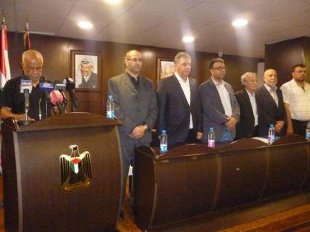 مؤتمر صحفي في سفارة دولة فلسطين لمرور عشرة أعوام على نكبة مخيم نهر البارد