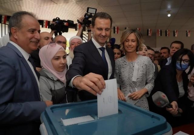 الشعبيّة تهنئ سوريا قيادة وجيشًا وشعبًا بمُناسبة انجاز الاستحقاق الدستوري