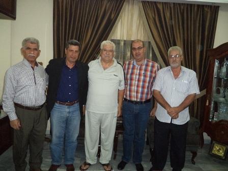 الشعبية في صيدا تزور عضو اللجنة المركزية في التنظيم الشعبي الناصري الأخ أبو مصطفى